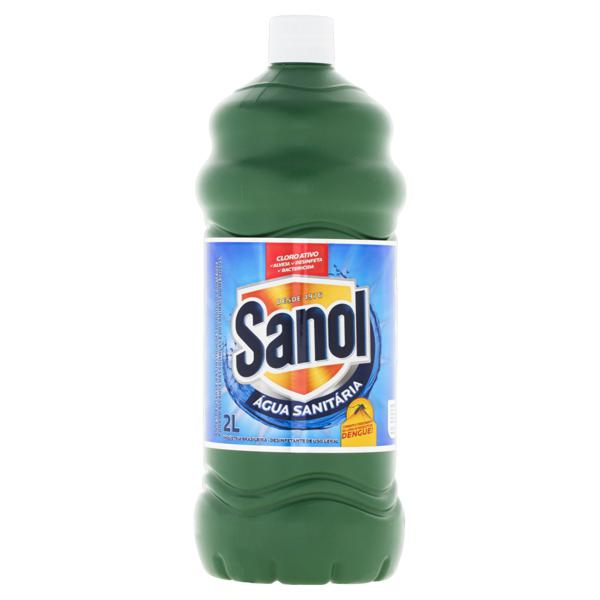 Água Sanitária Sanol Frasco 2l