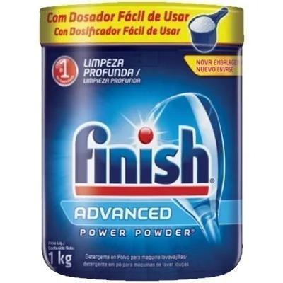 Detergente Lava Louça Finish Advanced 1Kg