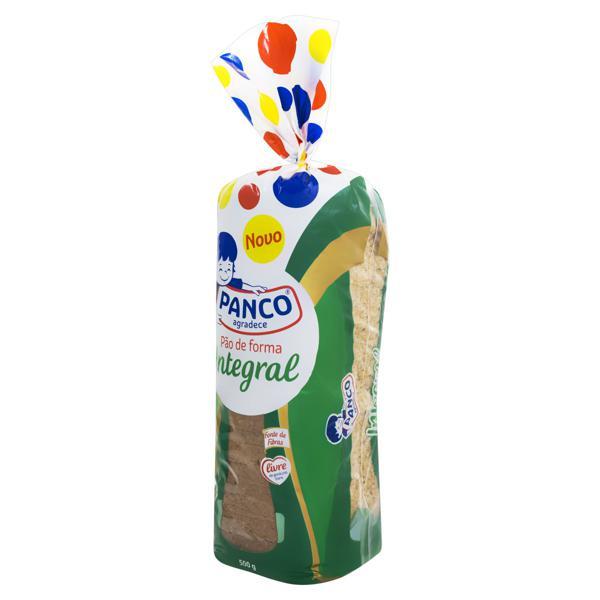 Pão de Forma Integral Panco Pacote 500g
