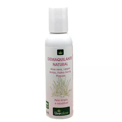 Demaquilante natural 120ml - Livealoe