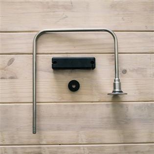 Braço Em Aço Inox para Sistema de Recirculação de Água Em Panela de Mosturação Mashtun 10/20 Gal - Ss BrewTech