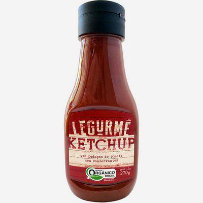 Ketchup Tradicional Orgânico 270g - Legurmê