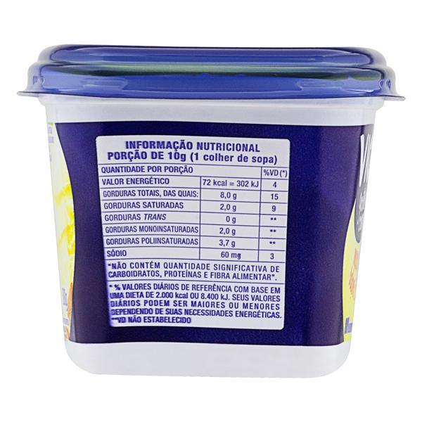 Margarina Manteiga com Sal Vigor Pote 500g
