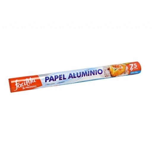 Papel Alumínio Facilita & Pronto 30x7,5mts