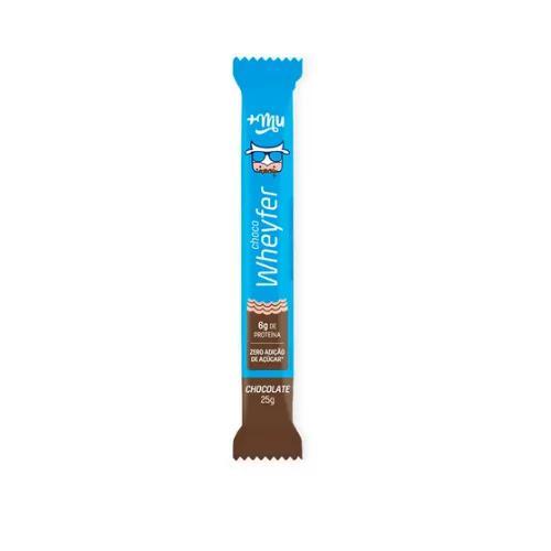 Choco Wheyfer MAIS MU Com Chocolate 0 Açúcar 25g