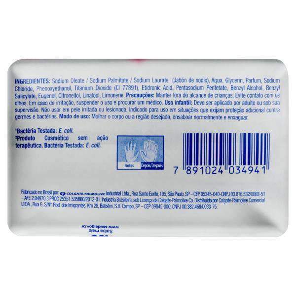 Sabonete em Barra Antibacteriano Suave Protex Cartucho 85g