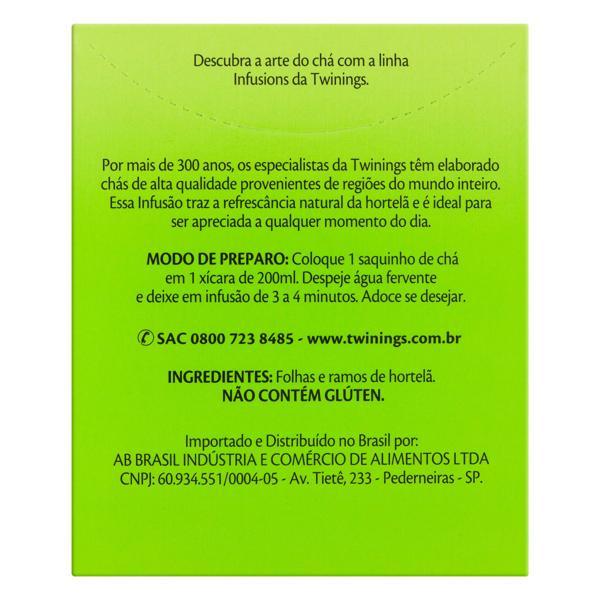 Chá Hortelã Twinings Infusions Caixa 17,5g 10 Unidades