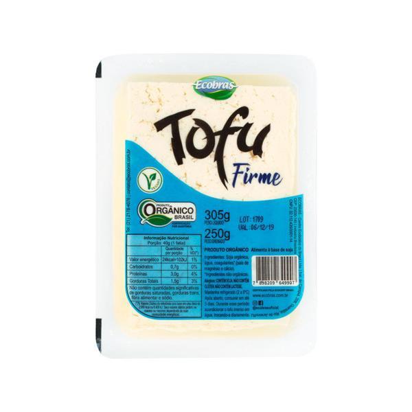 Tofu Ecobras Firme Organico 250G