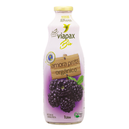 Néctar de Amora Orgânico (1L) - Viapax
