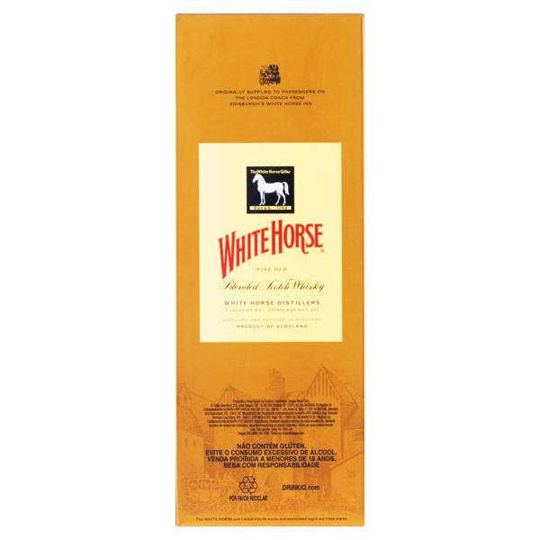 Whisky Escocês Blended White Horse Garrafa 1l