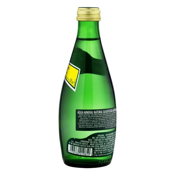 Água Mineral Natural com Gás Perrier Garrafa 330ml