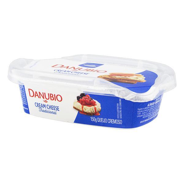 Queijo Cream Cheese Tradicional Danubio Pote 150g