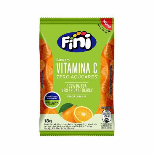 Bala de Gelatina FINI BEM ESTAR Vitamina C 18g