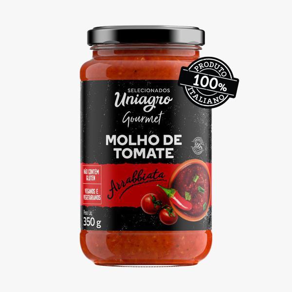 Molho de tomate arrabiatta ( 350g) Vegano- 100% italiano