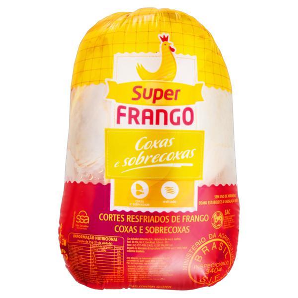 Coxa com Sobrecoxa de Frango Resfriada Super Frango