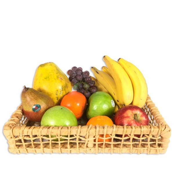 Cesta de Frutas Orgânica (7 Variedades) - Frete Grátis para esta cesta