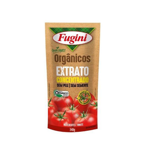 Extrato de Tomate Orgânico 340g - Fugini
