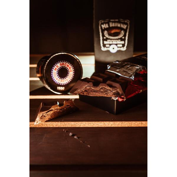 Barra de chocolate recheada - Sabor trufa de Jack Daniels 200g