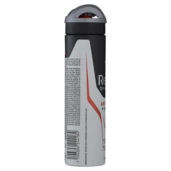 Antitranspirante Aerossol Antibacterial e Invisible Rexona Men Motionsense 150ml