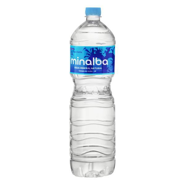 Água Mineral Natural sem Gás Minalba Garrafa 1,5l