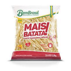 Batata Mais Congelada BEM BRASIL 1Kg