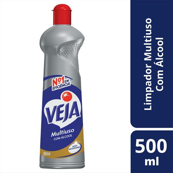 Limpador Multiuso com Álcool Veja Squeeze 500ml