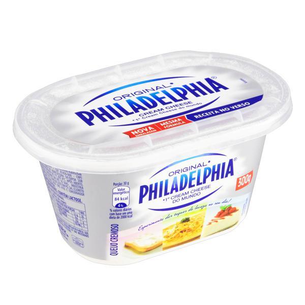 Queijo Cream Cheese Philadelphia Pote 300g