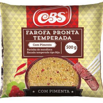 Farofa Pronta Cbs 500G C/Pimenta
