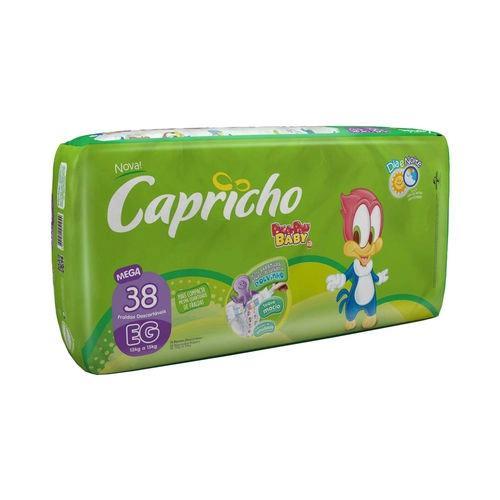 Fralda CAPRICHO Pica Pau Mega XG Com 38 Unidades