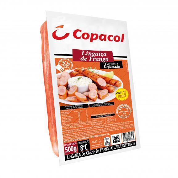 Linguiça COPACOL Frango Cozida Defumada 500g