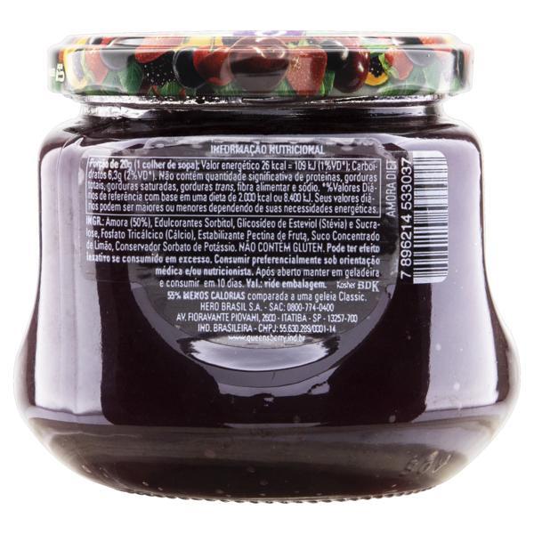 Geleia Amora Diet Queensberry Vidro 280g