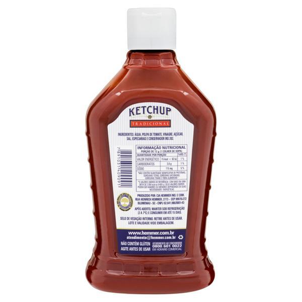 Ketchup Tradicional Hemmer Squeeze 1kg