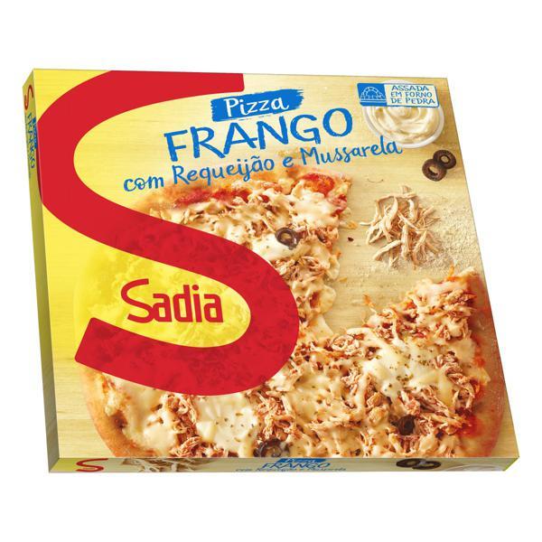 Pizza Frango com Requeijão e Mussarela Sadia Caixa 460g