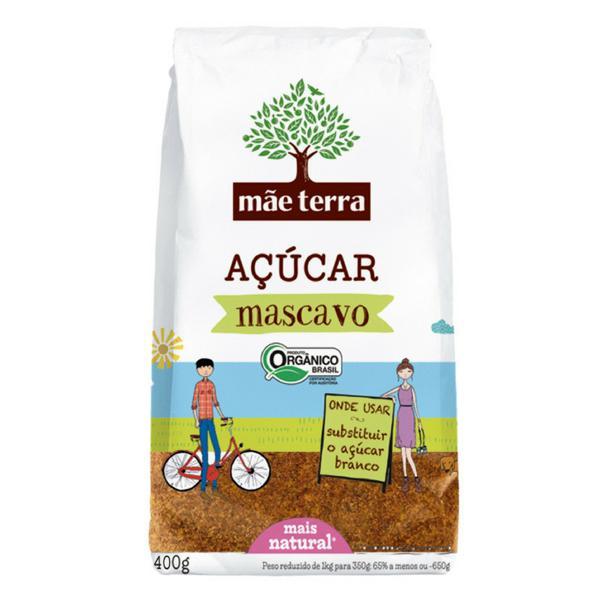 Açúcar Mascavo Orgânico 400g - Mãe Terra