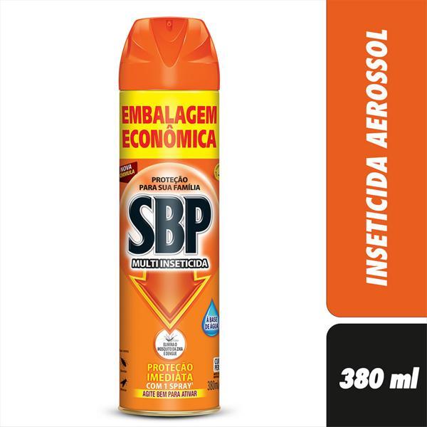 Multi-Inseticida Aerossol SBP Frasco 380ml Embalagem Econômica