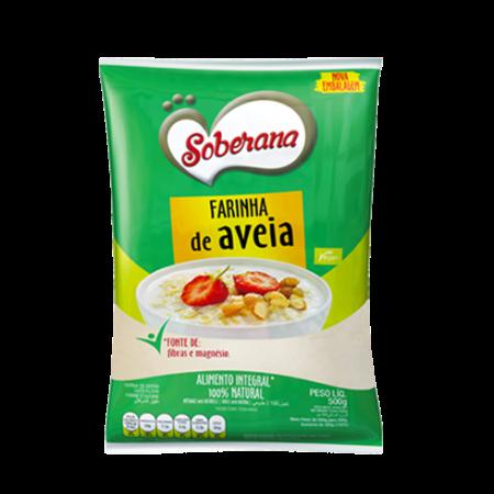 Farinha Aveia Soberana 500G