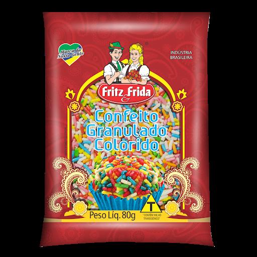 Confeito Fritz Frida 80G Color