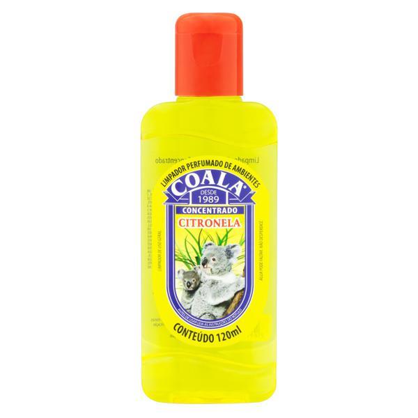 Limpador Perfumado Concentrado Citronela Coala Squeeze 120ml