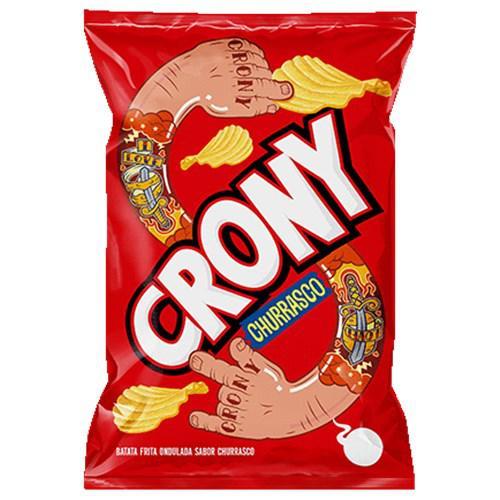 Batata Ondulada CRONY Churrasco 100g