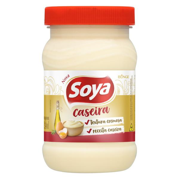 Maionese Caseira Soya Pote 250g