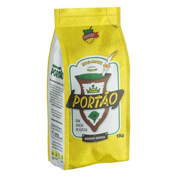 Erva-Mate Chimarrão Moída Grossa Portão Pacote 1kg