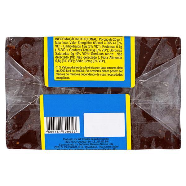 Bananada sem Adição de Açúcar DaColônia Pacote 200g