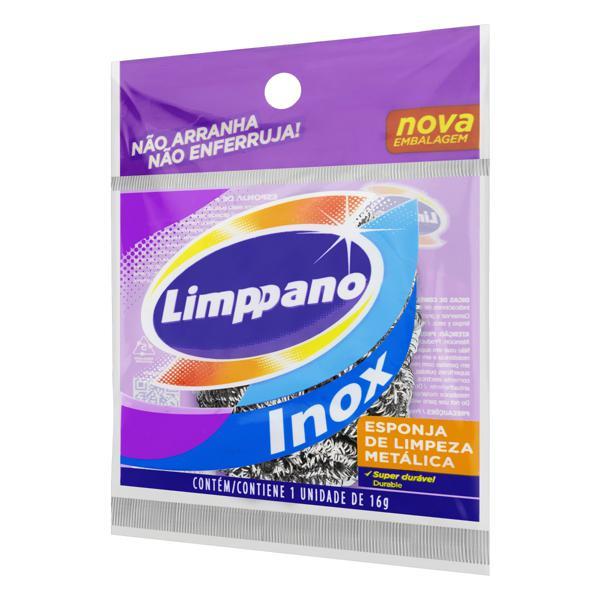 Esponja Inox Limppano 16g