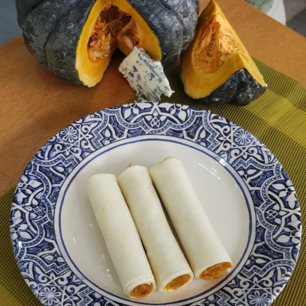 Canelone de Abóbora com Carne Seca 900g