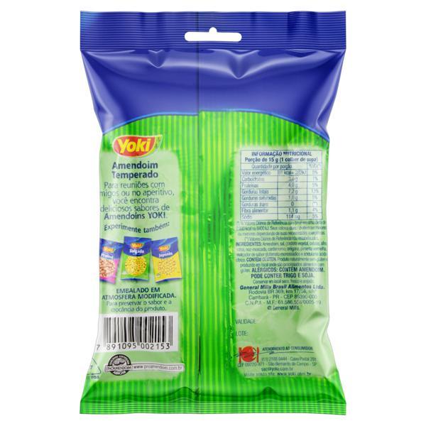Amendoim Temperado Yoki Pacote 150g