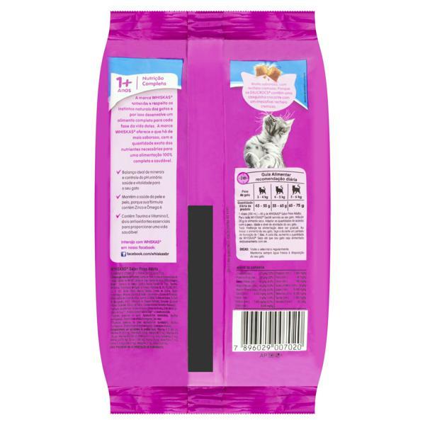 Alimento para Gatos Adultos 1+ Peixe Whiskas Pacote 500g