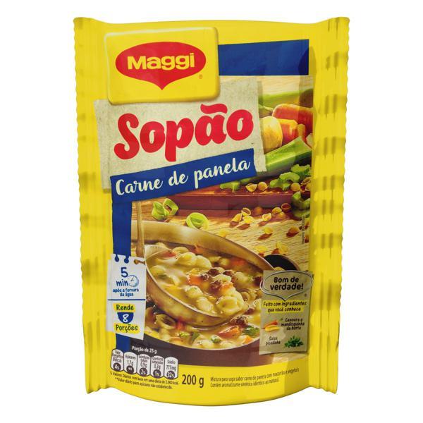 Sopão Carne de Panela Maggi Sachê 200g