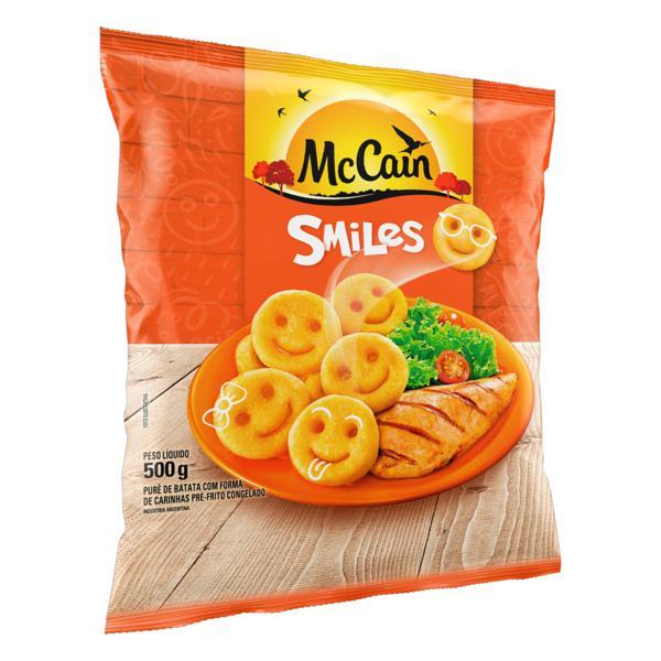 Batata Pré-Frita Smiles Congelada McCain Pacote 500g
