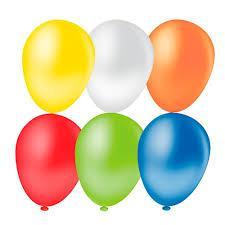 Balão INCOBRÁS Liso com 10 Unidades