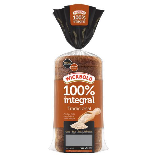 Pão Integral Tradicional Wickbold Pacote 400g